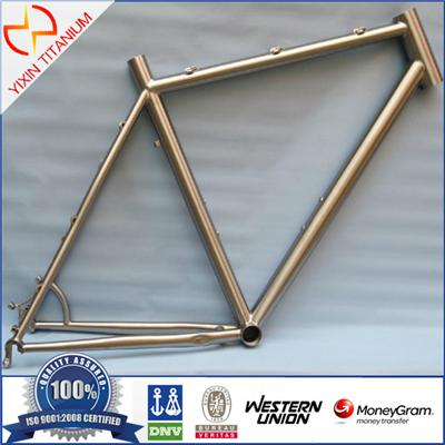 Hot Sale Ultralight Titanium MTB Titanium Cyclocross/CX/Touring Mountain Bike Frame