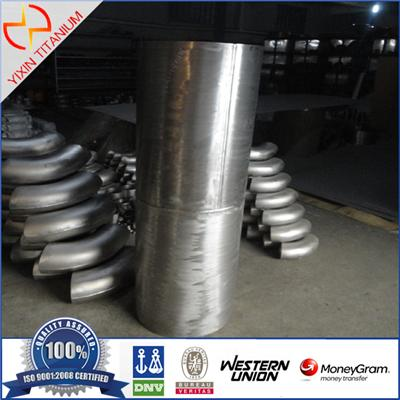 ASTM B 862 GR2 Titanium Welded Pipe With Large Out Diamiter