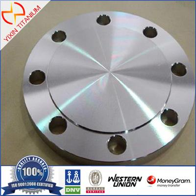ASME B16.5 PN16 GR2 Blind Titanium Forged Flange For Chemical Industry