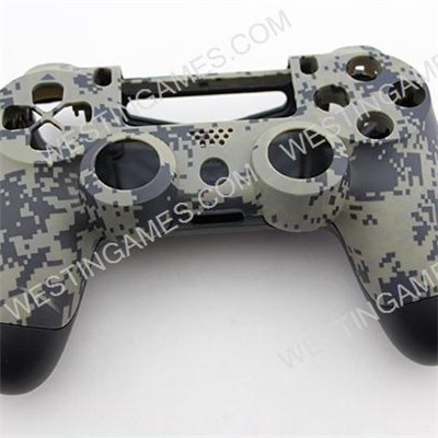 Replacement Top And Bottom Housing Shell Case For Playstation 4 PS4 Controller - Matt Camouflage 2