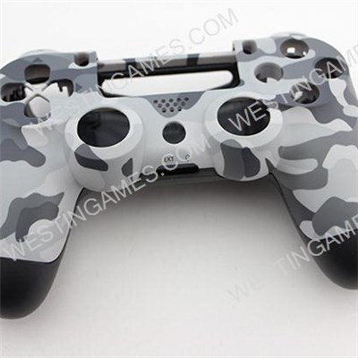 Replacement Top And Bottom Housing Shell Case For Playstation 4 PS4 Controller - Matt Camouflage 1