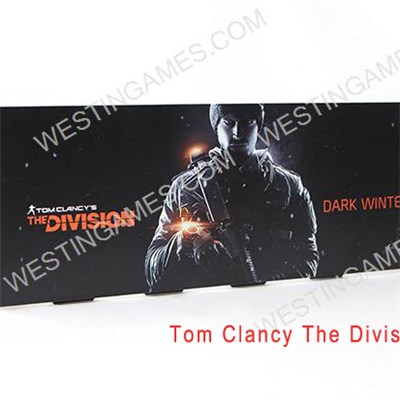 Matt Black Relief Pattern HDD Hard Disc Drive Cover Case For PS4 - Tom Clancy The Division