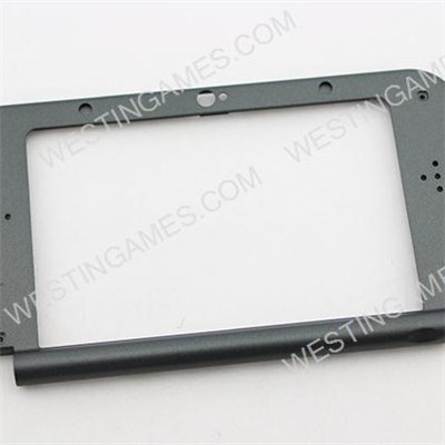 Original Faceplate Screen Display Middle Housing Shell Replacement For NEW 3DS XL 2015 - Black