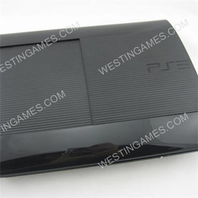 Replacement Complete Housing Shell Case For PS3 Super Slim 4K 4000 - Black