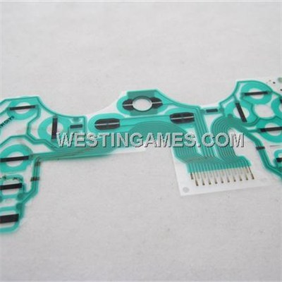 SA1Q160A Conductive Film Keypad Flex Cable Support Vibration For Playstation 3 PS3 Controller - A