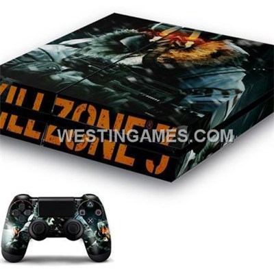 Designer Skin Sticker Colourful For PS4 System + Dualshock 4 Controller Decal - Customs Themes