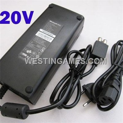 Original 220V Black Power Brick Supply Ac Adapter 135W For Microsoft Xbox 360 Slim EU Plug (OEM A+)