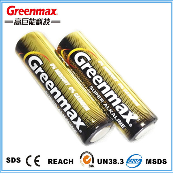 AA 1.5V shrink package alkaline battery