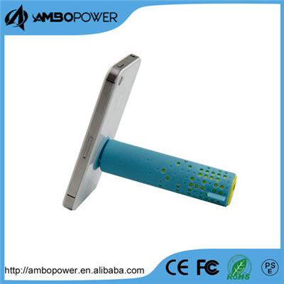 New Fashion High Quality Enexpensive  Quickly Charge Power Bank With Sucker Holder