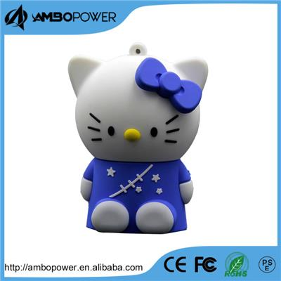 New  Grade A  Best Price Hello Kitty Cartoon Design ROHS Battery Charger 2200mah