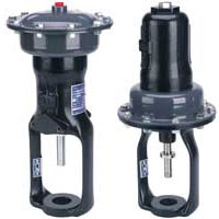 LIN-E-AIRE® Pneumatic Global Valve Actuator