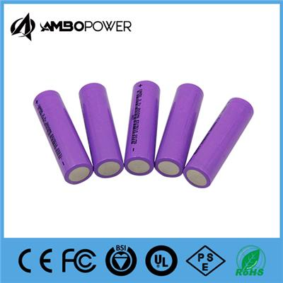 Factory Price 1800mah 18650 Battery