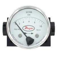 Series DTFA Variable-Area Flowmeter For Gases