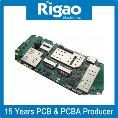 PCB Prototype Board Assembly with Electronic Components