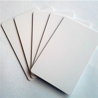 PVC White Blank Card for ID Card Printer