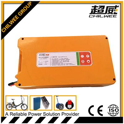 Vehicle 48V15ah Battery Pack in Square Shape