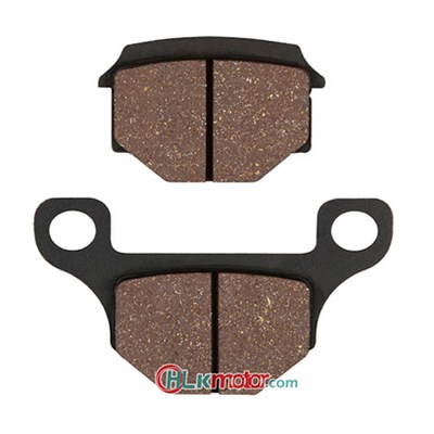Brake Pads with GDB1500 Lucas Number, Made of Non-asbestos and Semi-metal, Ideal for Peugeot