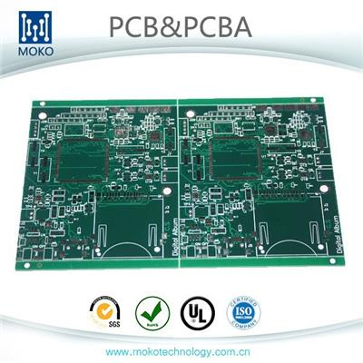 Copper PCB FR4 PCB 4-Layer Rigid PCB