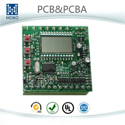 Rigid LCD Display PCB Assembly Board