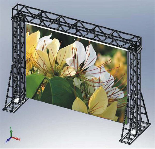 Outdoor full color LED display for P12