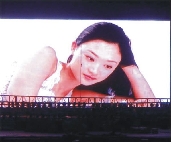 Outdoor full color LED display for P16