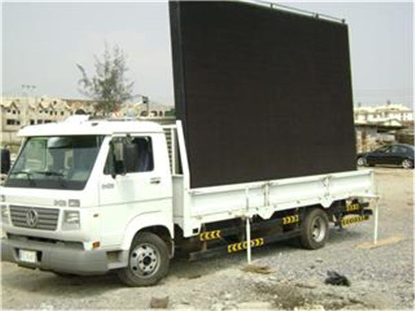 Truck LED display for P16
