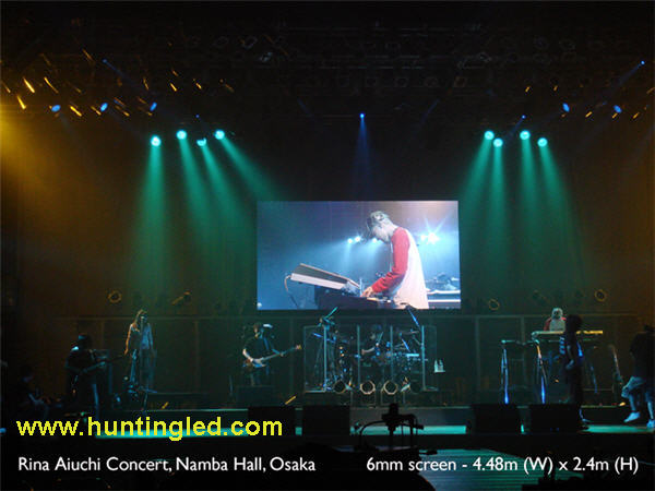 Stage background LED display for entertainment P10