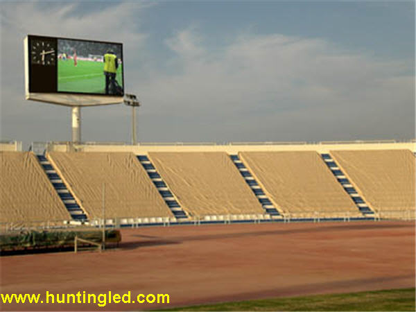 Outdoor full color LED display for stadium P16