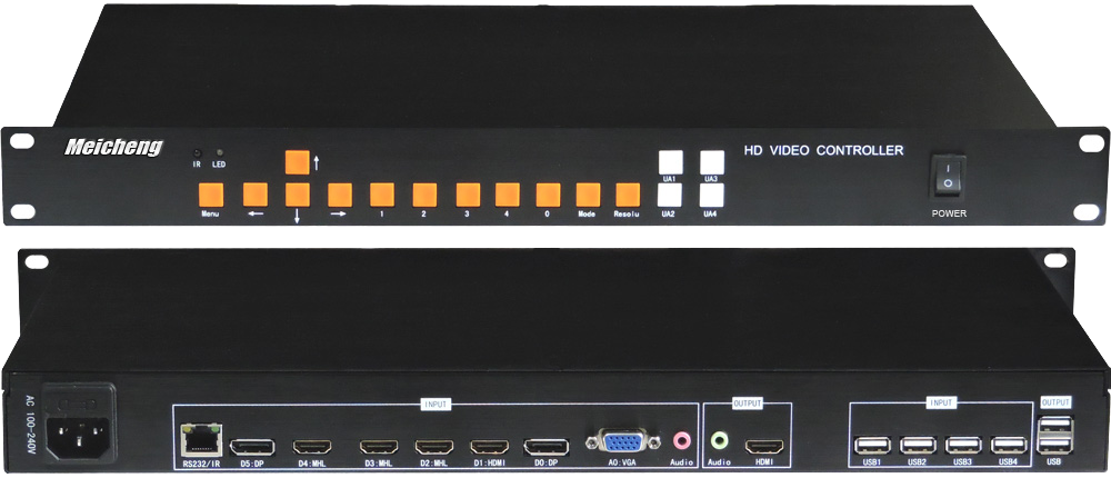 MX-1004-4K 4Kx2K Quad-View Video Processor