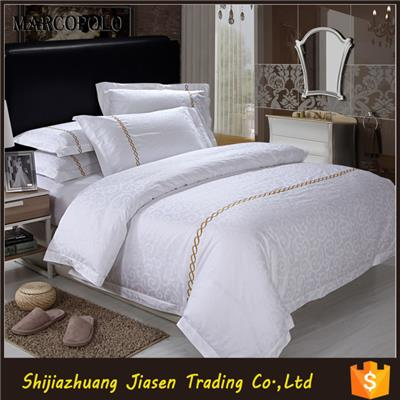 White Color 100 Cotton Spa/hotel Bed Linen Hotel Beddings Sets