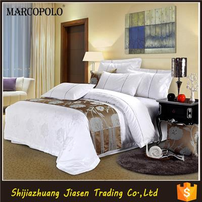 American Size Egyptian Cotton Satin Bedding Set/plain Cotton Bed Sheets