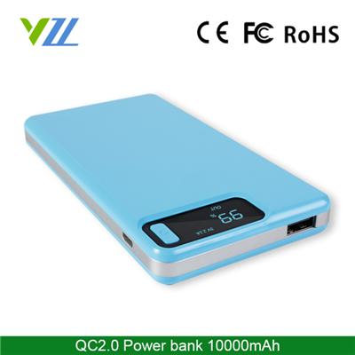 New Model QC2.0 Power Bank with Polymer Battery