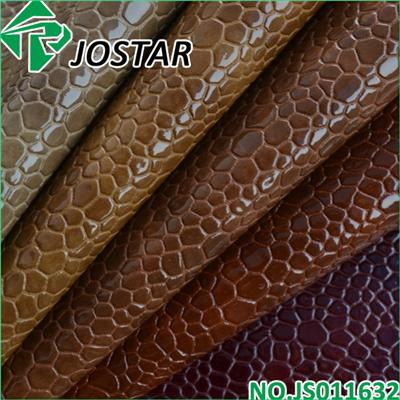 Stone Embossed Leather