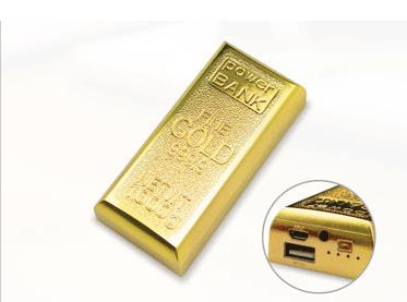 Gold Bar Power Bank