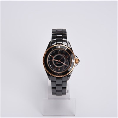 Top Brand Ceramic Watch Black Color