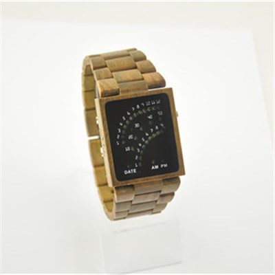 New LED Wood Watch With Good Price And Good Quality