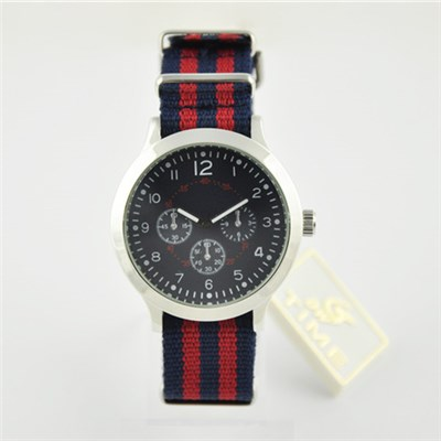 Interchangeable Nylon Band Watch For Women And Man