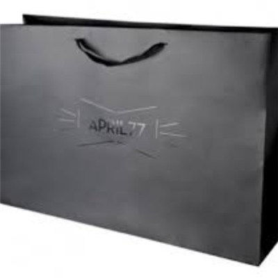 Luxuriant In Design Matte Paper Bag