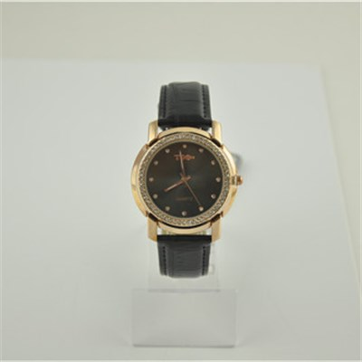 Japan Quartz Crystal Watch With PU Leather Band