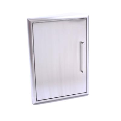BBQ Single Door Stainless 20x14