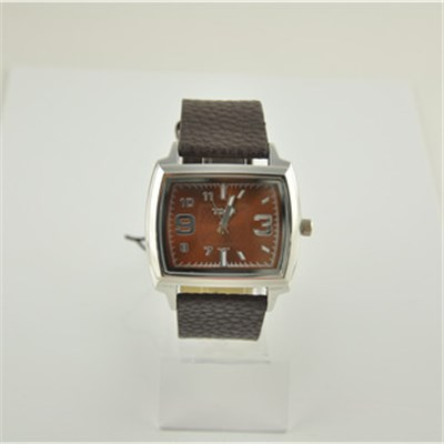 Big Square Shape Alloy Quartz Watch