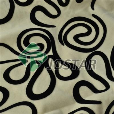 Flocking Sofa Material Leather