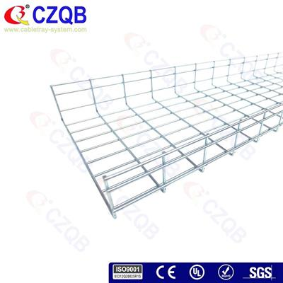 100×400 Straight Wire Cable Tray