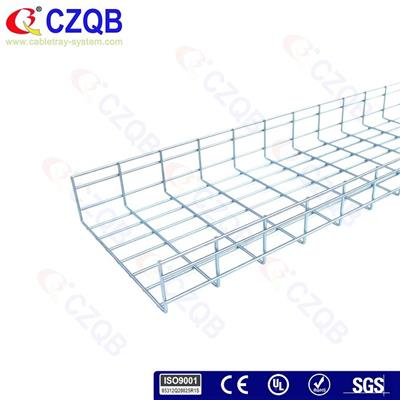 100×350 Straight Wire Cable Tray