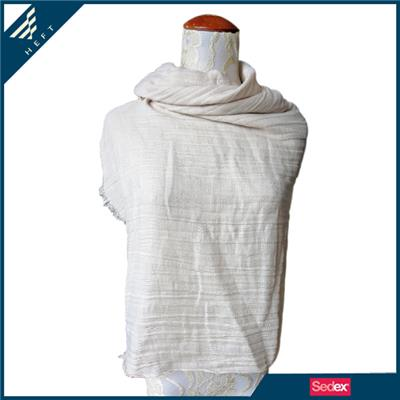 White Crease Scarf