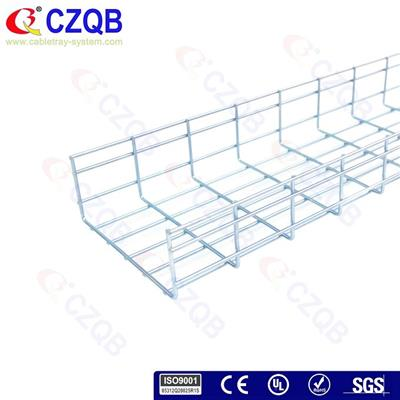 100×250 Straight Wire Cable Tray
