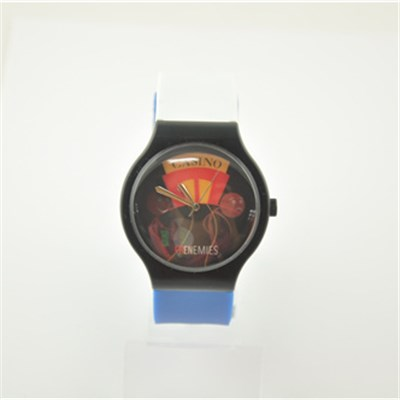 2015 Fashion Water Resistant Plastic Watch With Japan Movement