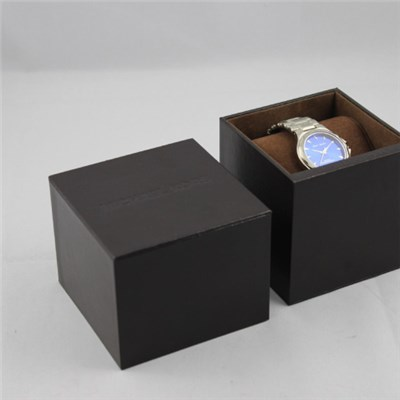 Full Color Printing Kraft Paper Earphone Box With PVC Tray