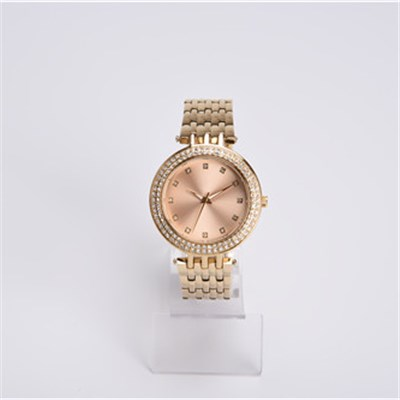 Classical Unisex Brass Watch With Japan Quartz Movement