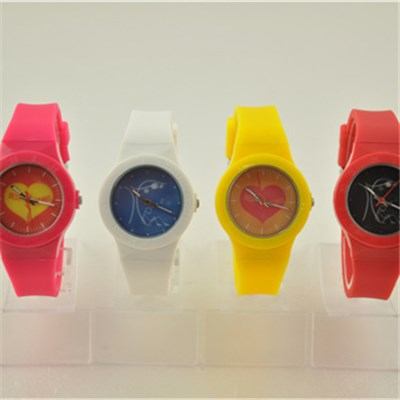Interchangeable Child Plastic Watch